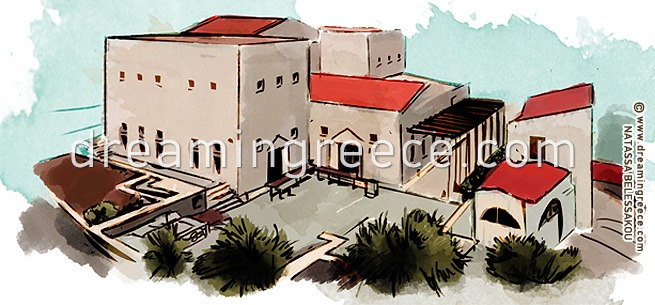 Archaeological Museum of Kalymnos Greece. Summer Holidays in Greece.
