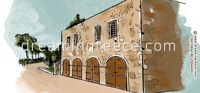 Archaeological Museum of Rethymno Crete. Holidays in Greece.