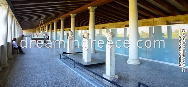 Ancient Agora Museum of Athens Greece