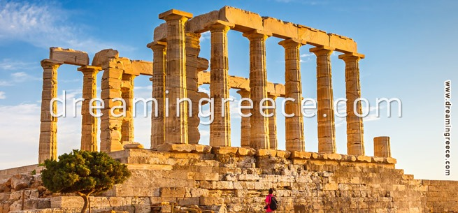Temple of Poseidon – Sounio Greece