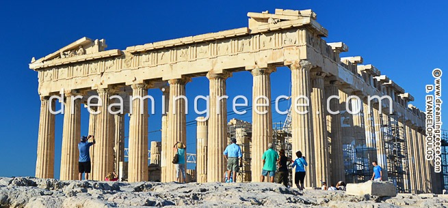 The Acropolis of Athens Greece. Vacations in Greece