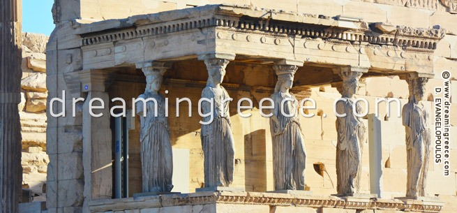The Acropolis of Athens Greece. Holidays in Greece