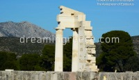 Archaeological Site Asklepieion of Epidavros Peloponnese Greece