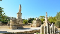 Ancient Agora of Athens. Travel Guide of Greece.