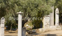 Kerameikos Athens Greece. Travel Guide of Greece.