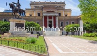 National Historical Museum Athens Greece. Holidays in Greece.