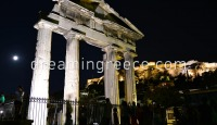 The Roman Agora of Athens. Travel Guide of Greece.