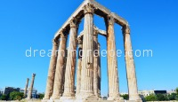 Temple of the Olympian Zeus Athens. Travel Guide of Greece