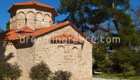 Monastery Agia Lavra Kalavryta Peloponnese Greece