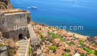 Monemvasia Castle Laconia Peloponnese Greece