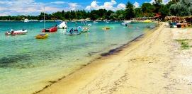Camping in Greece Halkidiki Vourvourous beach