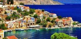 Holidays in Symi island Dodecanese Greece