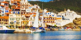 Holidays in Skopelos island Sporades Islands Greece