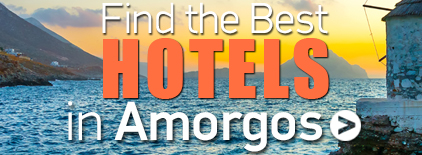 Amorgos island Hotels. Greece Travel Guide.