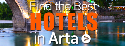 Arta Hotels Greece. Holidays in Greece.
